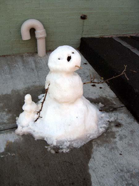 Stone Cold Snow Man