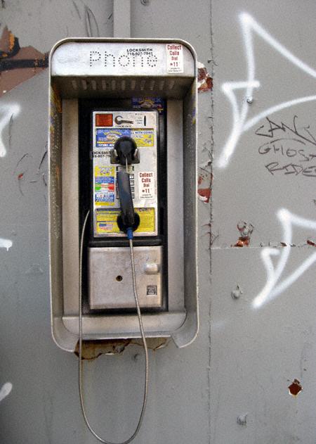Humboldt Street Pay Phone