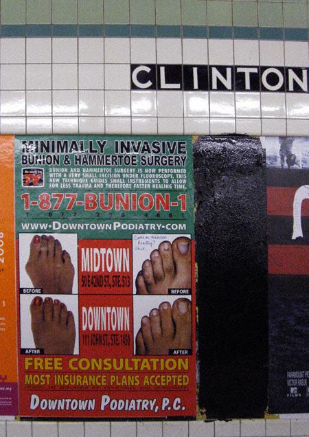 Invasive Hammertoe Poster