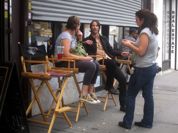 Spotted On Manhattan Avenue Keanu Reeves Newyorkshitty Com
