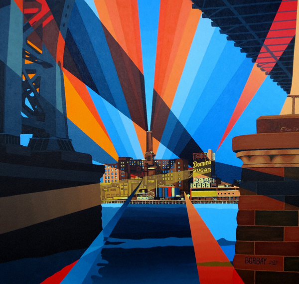 Domino-Sugar-Factory-Painting-by-BorbayNYS