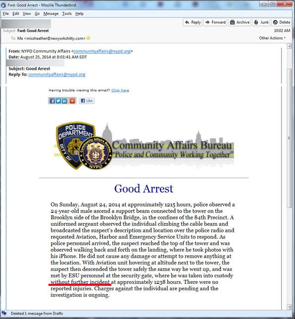 Good arrest