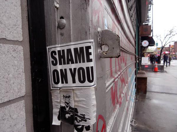 SHAME nys