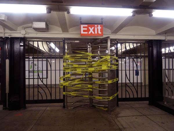 No exit 600