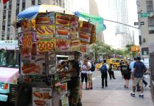 food carts - restaurants - nyc