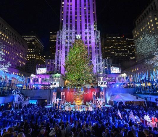 rockefeller center - christmas tree - nyc
