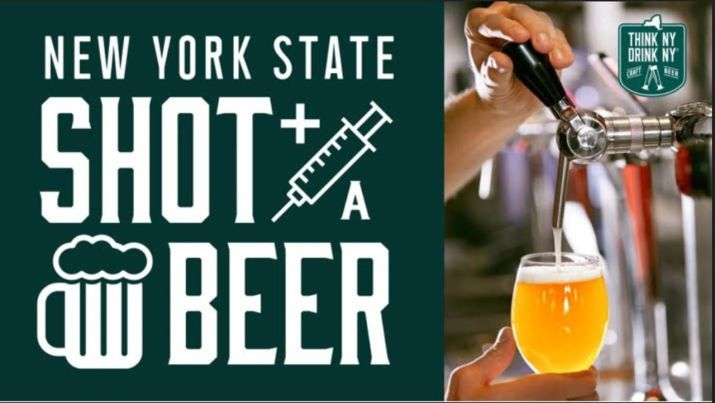 Shot and a beer: New York state breweries offer deal for those with Covid vaccines - newyorkupstate.com