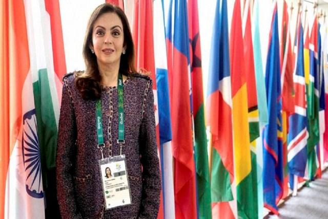 Nita Ambani, The New Member of IOC'S Olympic Channel Commission