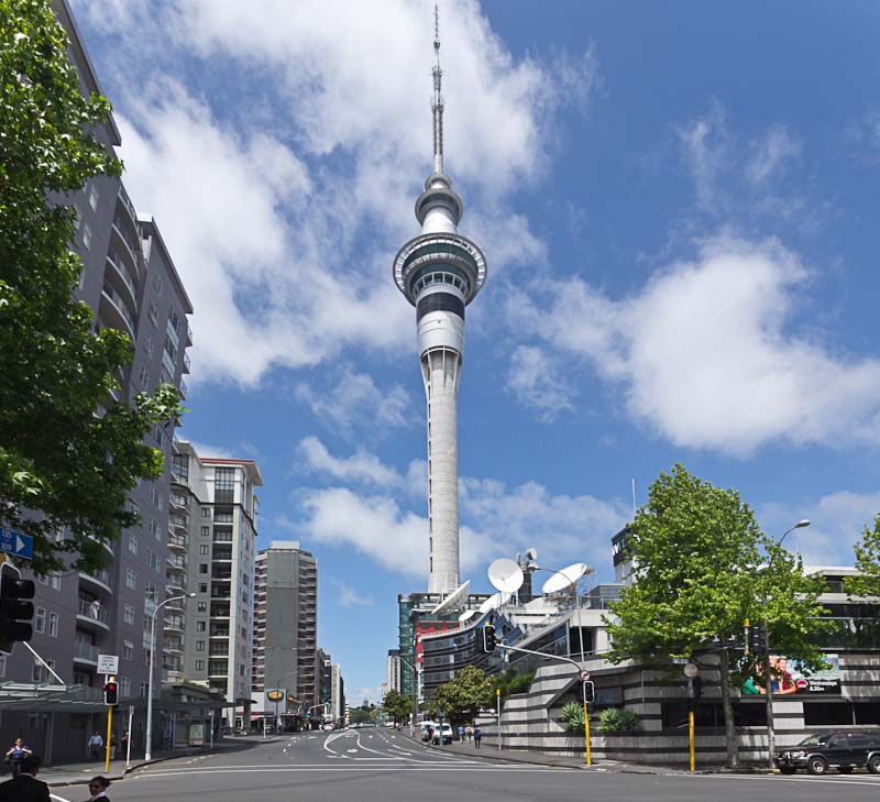 Image result for Sky Tower in Auckland, New Zealand