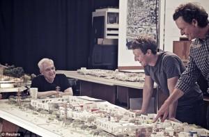 Zuckerberg Gehry Facebook