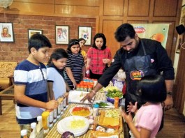 Cremica organized a Sandwich making workshop at Chandigarh Club