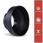 52mm Universal Rubber Camera Lens Hood