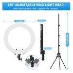 3. Ring Light Kit HQ18 48 cm 55W 550K