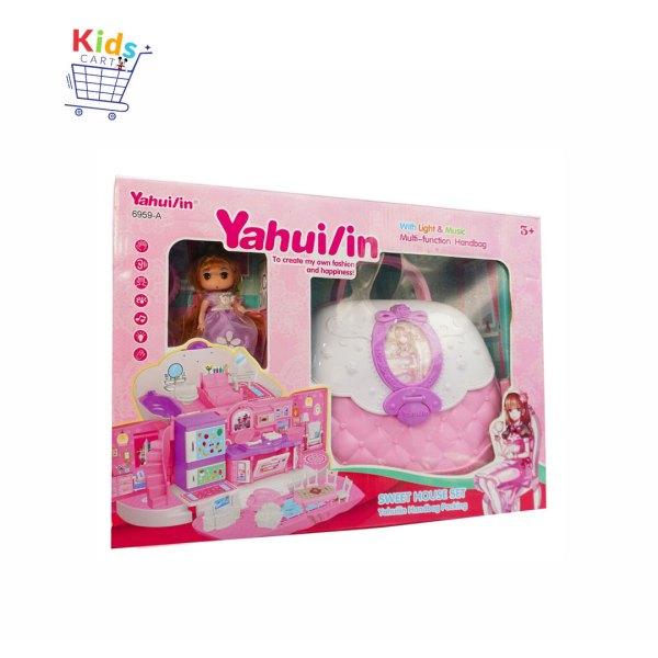 Pretend Handbag Mini Doll House Toy Furniture Set