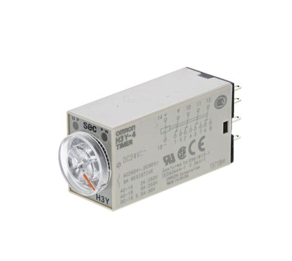 Omron H3y-4 Dc24 5s Solid-state Timer
