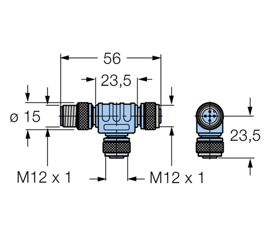 Turck Accessories For Fieldbus Systems Fsm 2fkm57
