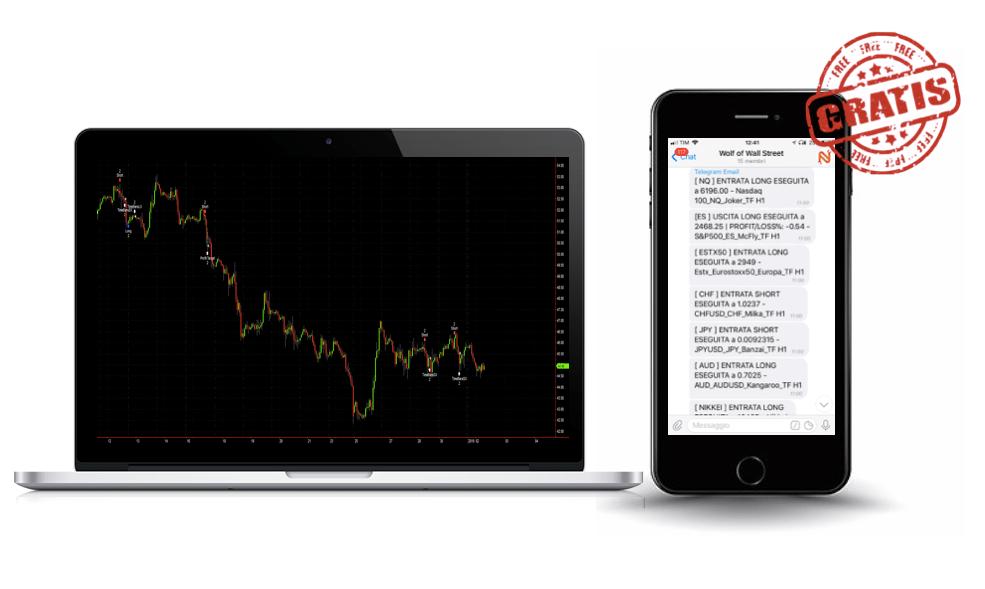 Trading Bot | Segnali su Telegram dai nostri algos | Nexit Advisors