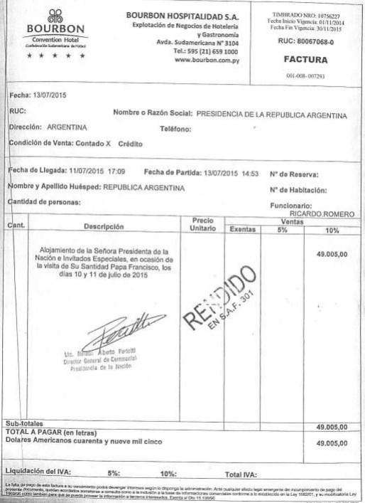 Encontrá las últimas noticias de eduardo wado de pedro: Descubren un fraude por facturas truchas en los viajes de