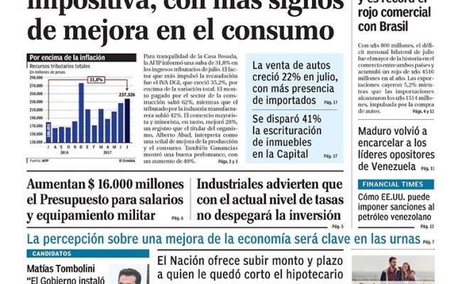 Diario El Cronista Comercial Del 02 08 2017 Nexofin