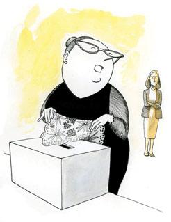Paradojas del sufragio femenino