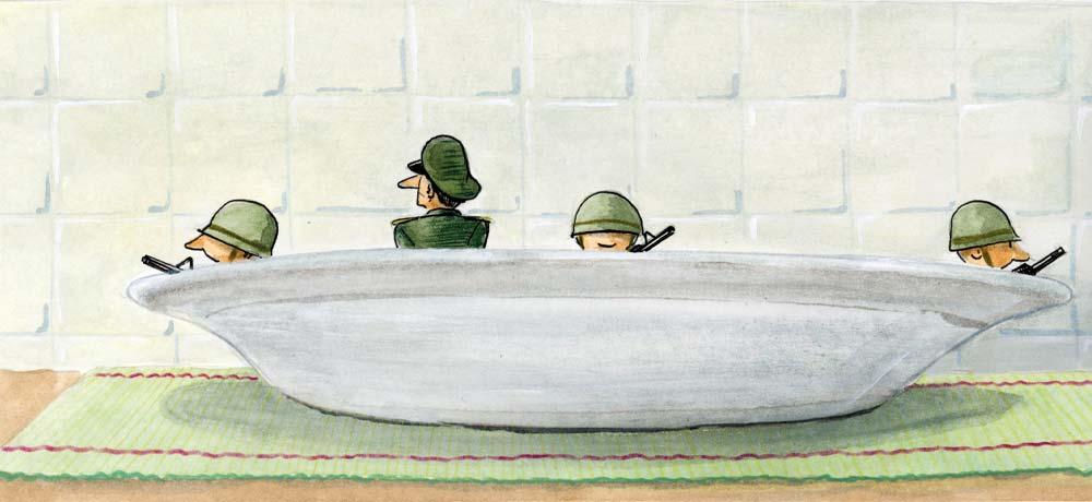El protagonismo militar
