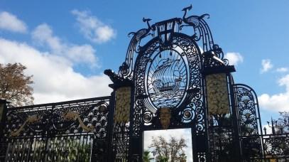 Porte Chanot, histoire de la colonisation