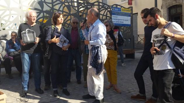 Paroles d'habitants de Belsunce inauguration square Louise Michel 2018