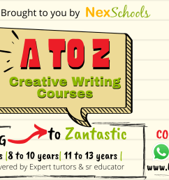 NexSchools Creative Writing Course for Children for Primary to Middle School [ 1152 x 2048 Pixel ]