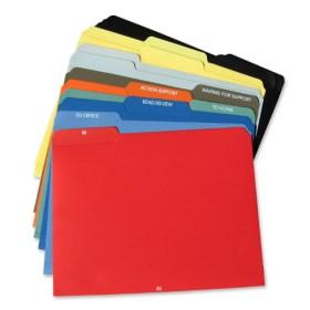 GTD File Folders