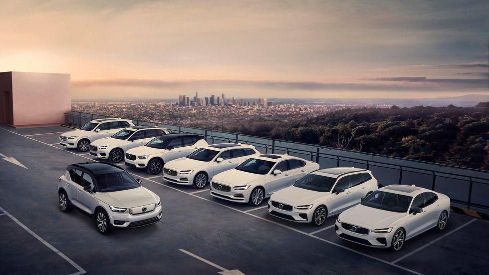 Volvo начинает эру глобальной электрификации