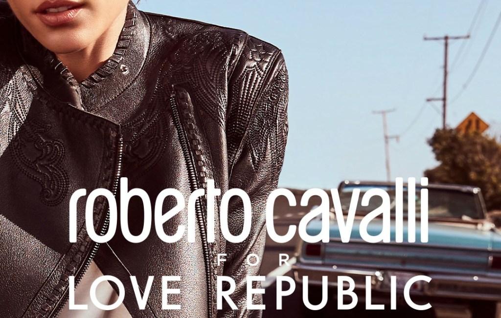 Представлена новая коллаборация Roberto Cavalli For Love Republic