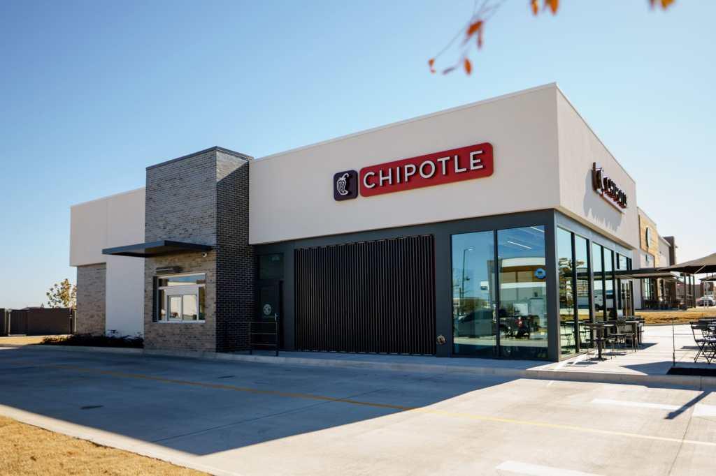 Chipotle выбирает новый дизайн ресторанов