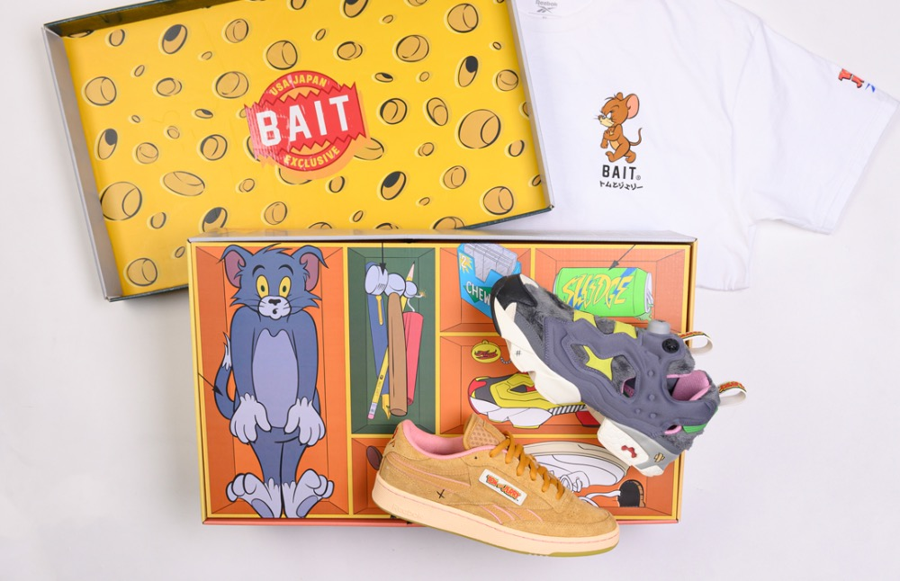Эксклюзивный набор The Tom & Jerry Sneaker Kit от BAIT