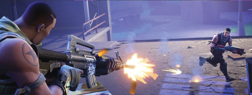 FORTNITE Le Mode Battle Royale Gratuit Avec La MAJ 163