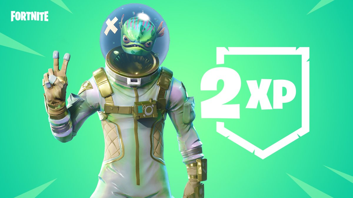 Fortnite Cest Double XP Ce Week End Next Stage