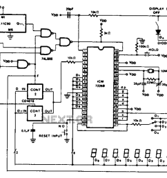 cycle 100 mhz frequency counter circuit diagram [ 1101 x 720 Pixel ]