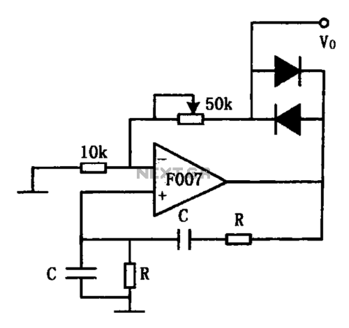 small resolution of sine wave oscillator circuit oscillator circuits next gr f007 stable sine wave oscillator circuit diagram