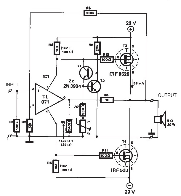 mosfet circuit : Other Circuits :: Next.gr