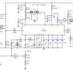 Mass Airflow Receiver Circuit 2 Way Light Switch Wiring Diagram Australia Am Based On Tda1572 Ic Repository Next Gr