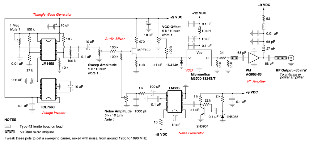 medium resolution of gsm cell phone jammer circuit