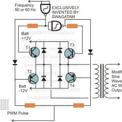 Home Ups Inverter Wiring Diagram For Dual 4 Ohm Subwoofer Gt Circuits How To Design H Bridge Circuit L28501