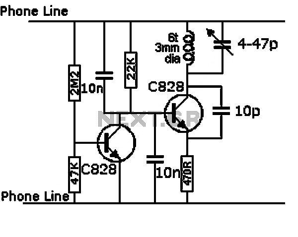 project circuit design vhf antenna amplifier circuit using bft66