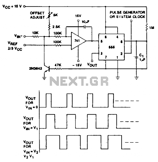 voltage to pulse circuit : Converter Circuits :: Next.gr
