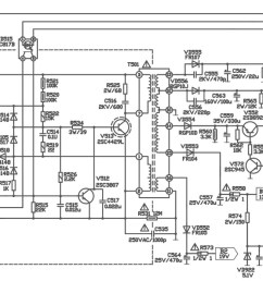 32xt 32quot lcd tv main power regulator smps schematic diagram lcd tv diagram how works lcd [ 1600 x 593 Pixel ]