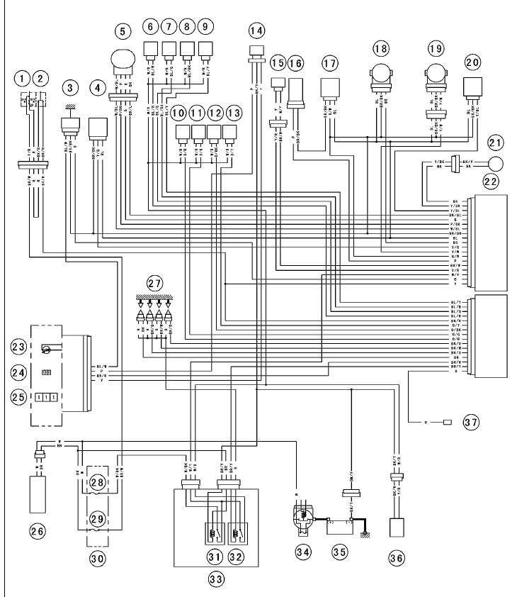 > circuits > Wiring schematic for 2005 636 Kawasaki l46286
