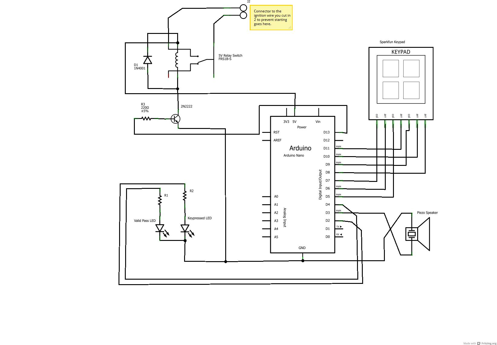 Wiring Schematic Tablet
