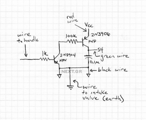 small resolution of simple circuit to turn your oscilloscope into a tdr
