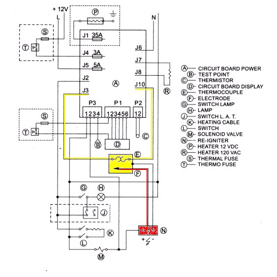 Duo Therm Rv Furnace Wiring Diagram Duo Therm Camper