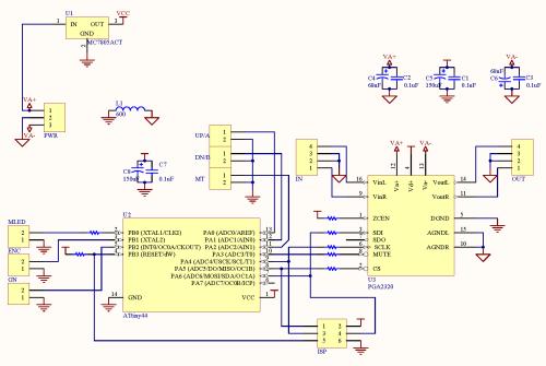 small resolution of minivol pga2320 volume control
