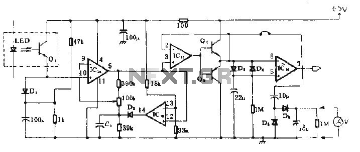 digital clock with timer and solar panel regulator circuit